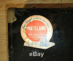 1960's Mens Riedell Red Wing Roller Skates Rexing Monty's Skateland San Diego