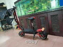 85KM/H Adults 60V 3200W dual motors electric scooter with Seat