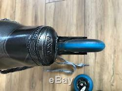 BAUER TotalOne MX3 Converted Inline Hockey Skates Labeda Chassis Size 10D Roller