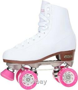 BRAND NEW Chicago Women's Roller Skates Size 9 White/Pink FREE SHIPPING