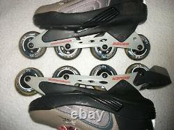 Bauer Extra 5.5 Roller Blades Inline Skates Mens Size 11 M, Great Shape, Used Once