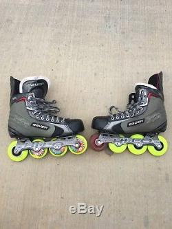 Bauer Vapor XR4 Inline Roller Hockey Skates Size US 11 Very Lightly Used