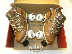 Chaya Neat Vintage Quad Skates Brown Skate Multiple Sizes NEW
