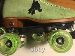 DISCONTINUED COLOR Moxi LOLLY Honeydew 6 Green Roller Skates OUTDOOR W 7.5 / 7