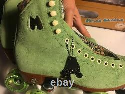 DISCONTINUED COLOR Moxi LOLLY Honeydew 7 Green Roller Skates OUTDOOR W 8.5/8