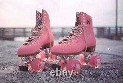 Discontinued Moxi Lolly Roller Skates Strawberry (Pink) Size 6 (fits 7 & 7.5)