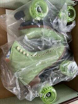 Discontinued Rare Moxi Lolly Roller Skates Honeydew Size 5