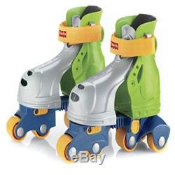 Fisher-Price Grow-With-Me 1 2 3 Inline Skates Free Comfort Durable New