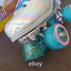 Impala Quad Holographic Roller Skates Women's Size 10 In Hand