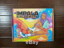 Impala Quad Roller Skates Holographic Size 7 Brand New Fast Shipping