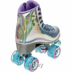 Impala Quad Roller Skates Holographic Size 8 Brand New SHIPS TODAY