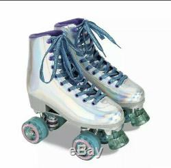 Impala Quad Roller Skates Holographic US Size 9 Brand New Ready to Ship