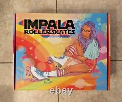 Impala Quad Roller Skates Midnight Size 6 New In Hand