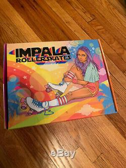 Impala Quad Roller Skates Pastel Fades Women's Size 9 In Hand Ships Fast