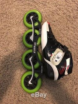 Inline Speed Skates Size 12 Luigino Sting 4/110mm Used Great Condition