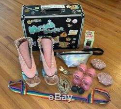 MOXIE Lolly Strawberry Skate BUNDLE (Pre-Owned / Excellent Condition) SIZE 5