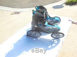 Mens Land Roller Terra 9 All Terrain Inline Skates Size 12 Excellent Condition