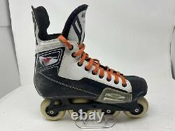 Mission 10X Roller Hockey inline Skates US Men's 10E FREE SHIPPING