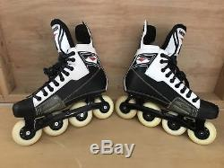 Mission Roller Hockey Inline Skates Mens Size 9E Excellent Condition