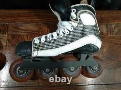 Mission Wicked Light Inline/Roller Hockey Skates Size 8.5 D Very Rare