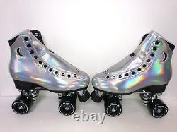 Moonlight Roller Flashdance Holographic Moon Boot Skates Size 7 (Womens 8-8.5)