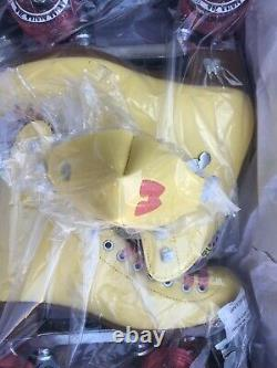 Moxi Beach Bunny Roller Skates Moxi Size 6 (W 7 7.5) Yellow READY TO SHIP
