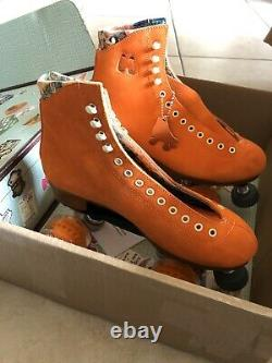Moxi Lolly Clementine Roller Skates Size 6 (W 6.5 7.5) READY TO SHIP
