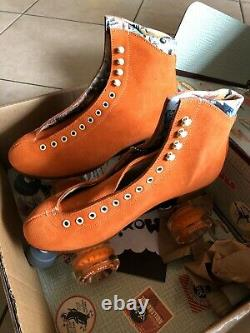 Moxi Lolly Clementine Roller Skates Size 8 (8.5 9.5) READY TO SHIP