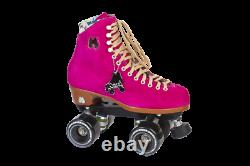 Moxi Lolly Fuchsia Roller Skates Size 7 (w8-8.5) Brand New. READY TO SHIP NOW