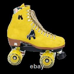 Moxi Lolly Pineapple Roller Skates Size 5 (W 6 -6.5) With Tool READY TO SHIP NOW