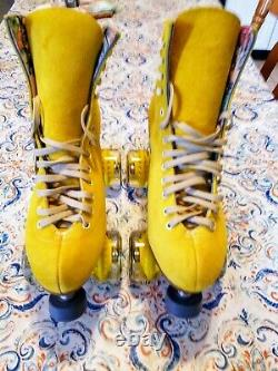 Moxi Lolly Pineapple Roller Skates Size 7 (w8-8.5) With Tool. READY TO SHIP NOW