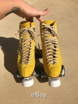 Moxi Lolly Pineapple Roller Skates With Upgraded Avanti Magnesium Plates