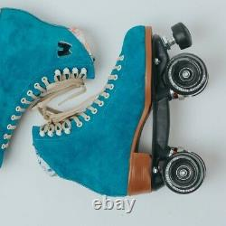 Moxi Lolly Pool Blue Roller Skates Size 9 (w10-10.5) New. READY TO SHIP NOW