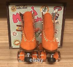 Moxi Lolly Roller Skates Clementine Size 8! Brand New