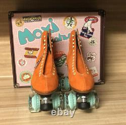 Moxi Lolly Roller Skates Clementine Size 9 (fits womens 10 -10.5)