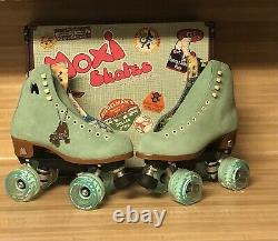 Moxi Lolly Roller Skates Floss (blue) Brand New Size 6 (fits womens 7 -7.5)
