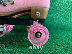 Moxi Lolly Roller Skates Strawberry Pink New Size 6 (Women 7-7.5) Discontinued