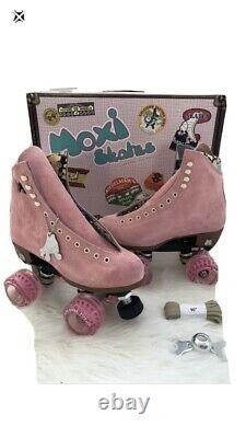 Moxi Lolly Roller Skates Strawberry Pink Size 6 Brand New