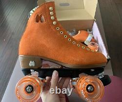 Moxi Lolly Roller Skates in Clementine Size 7 M (8-8.5 W) Brand New