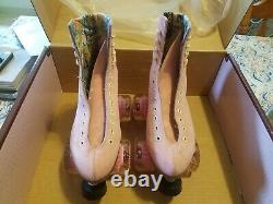 Moxi Lolly Strawberry Pink Roller Skates Size 8 (w9-9.5) Riedell READY TO SHIP