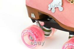 Moxi Lolly Strawberry Pink Roller Skates Size 9 (w10-10.5)New READY TO SHIP NOW