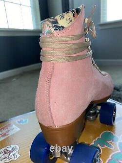 Moxi Lolly Strawberry Pink Size 8 (fits womens 9) READ DESCRIPTION