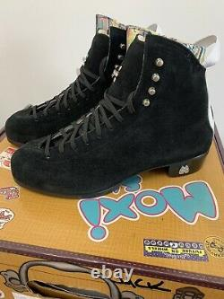 Moxi Roller Skate Boots Black Jack Boots Only Sz 10 Black NEW Ready to Ship