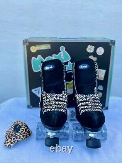 Moxie Black Panther Skate Package Size 7 Fits Womens Size 8 8 1/2