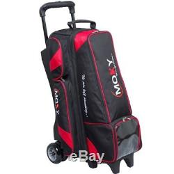 Moxy Dually 4x4 Inline Roller Bowling Bag- Black/Red
