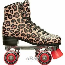 NEW Impala Leopard Quad Roller Skates Size 7 In Hand Fast Shipping