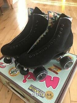 NEW Moxi Lolly Roller Skates Classic Black Size 7 (Womens 8-8.5) Brand New