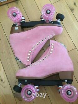 NEW Moxi Lolly Roller Skates Size 8 Strawberry (pink) brand new in box
