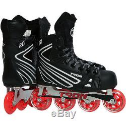 NEW! Tron S20 Inline Roller Hockey Skates Size Sr 12 Same as Bauer/Mission