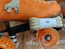 NEW in box Moxi Lolly Roller Skates Size 6 Clementine (Orange) color